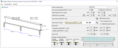 STEELexpress Design of steel structures according to Eurocode 3